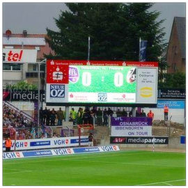 Full Color High Resolution Stadium LED Screens With Anti UV Plastic IP65 P10 P8 P6 P4