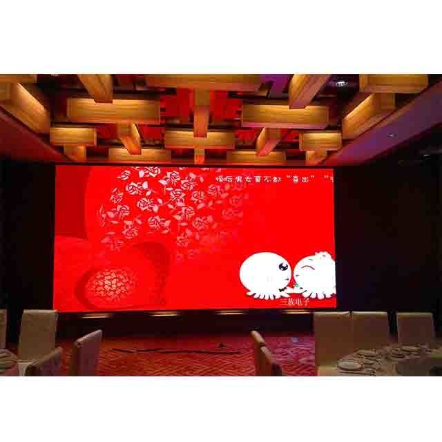 Conference Advertising Screen 1000cd/sqm Rental LED Display